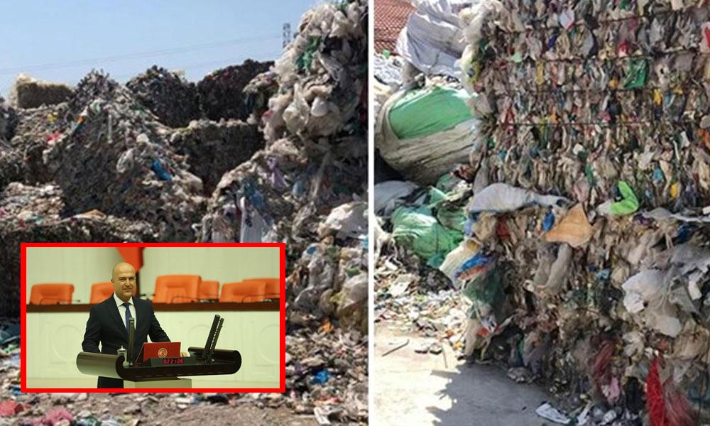 Türkiye çöp yığınına dönüştürülüyor:İzmir'de 'ithal çöp' iddiası Meclis gündemine taşındı