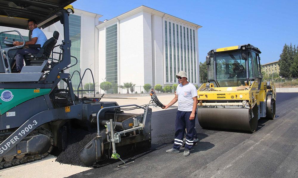 Adana'nın dört bir yanı asfaltla buluşuyor!