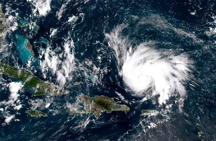 ABD'de Dorian Kasırgası… Yüzlerce kişi mahsur kalmış olabilir
