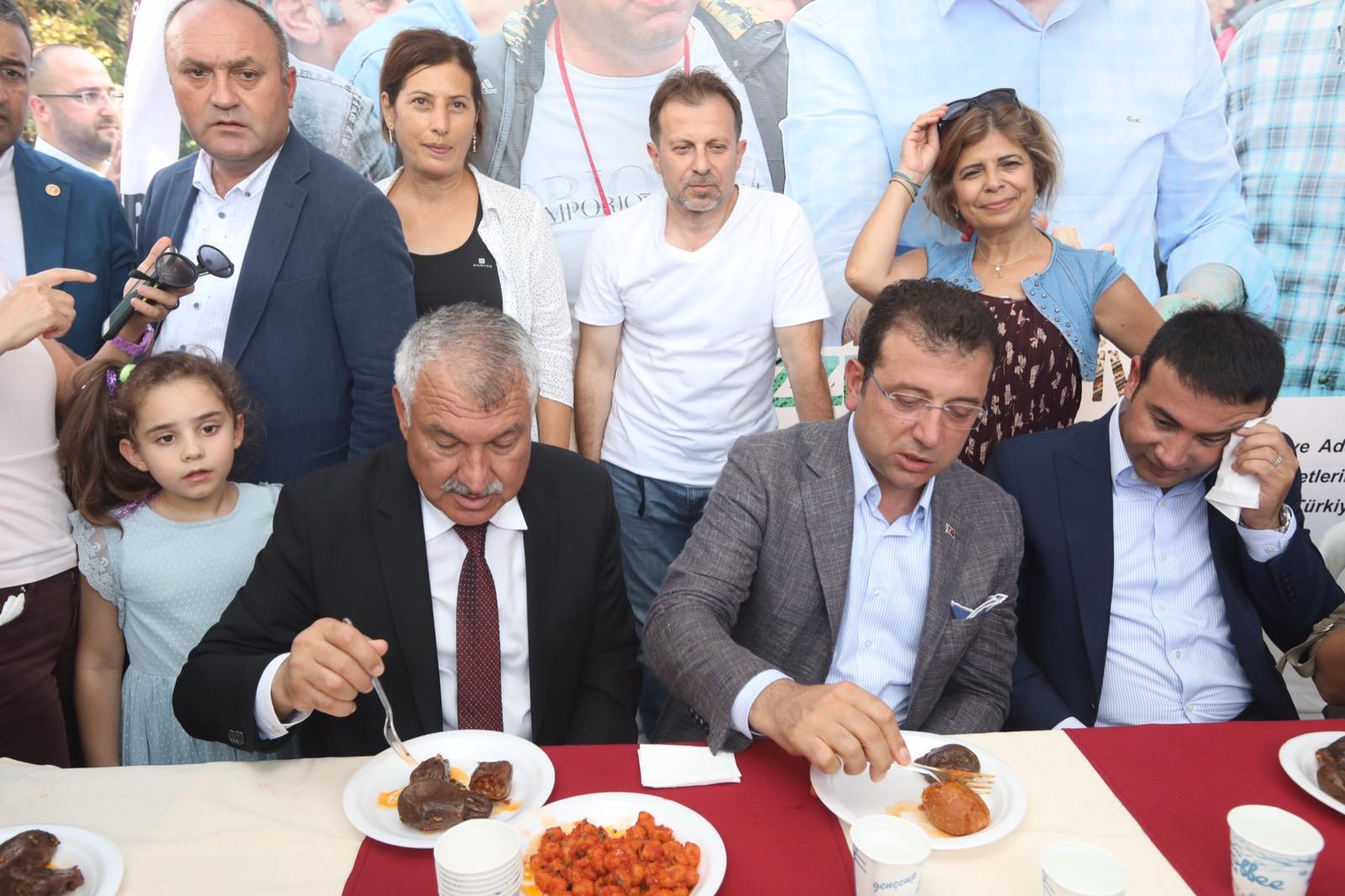 İstanbul mis gibi kebap kokuyor! AdanaFest'in açılışına Ekrem İmamoğlu da katıldı