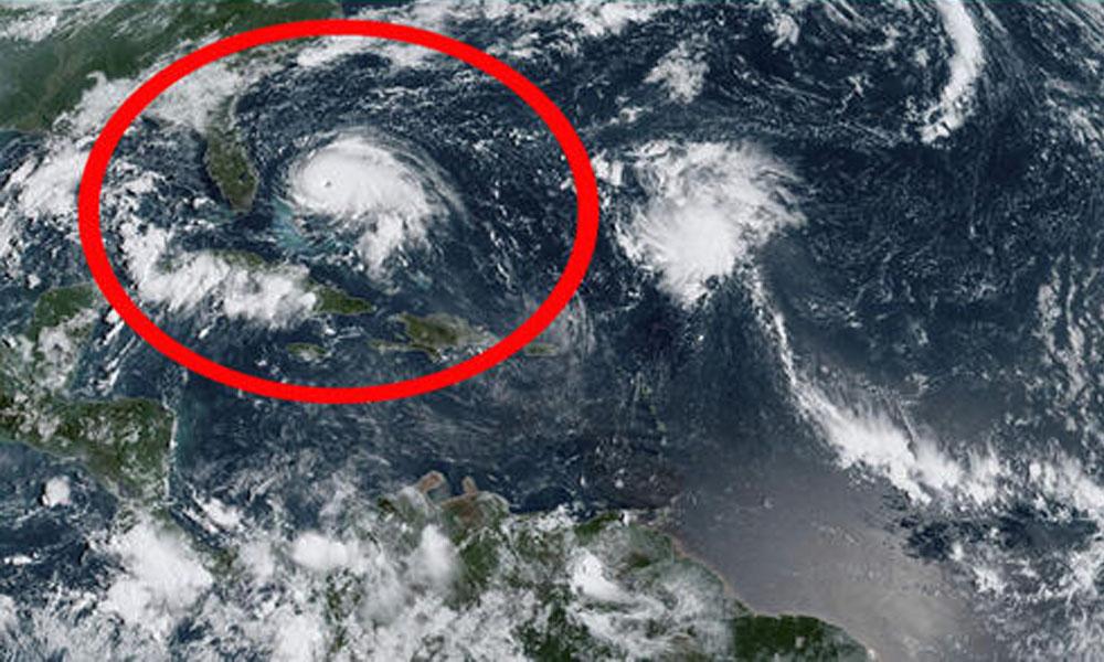 Bahamalar'ı felç etmişti, ABD sahillerine yaklaşıyor! Dorian kasırgası uzaydan böyle görüntülendi