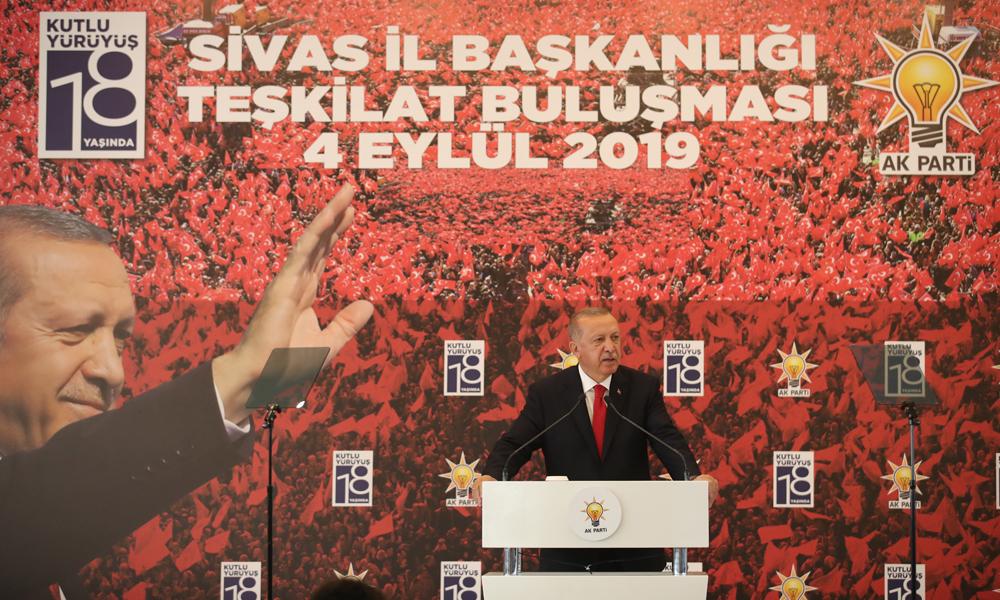 Erdoğan'dan eski yol arkadaşlarına: Bunların hepsi birer proje