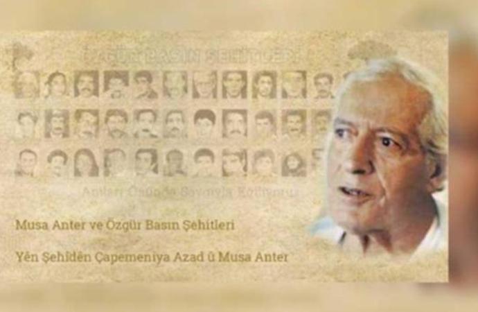 Musa Anter ve Özgür Basın Şehitleri Gazetecilik Ödülleri'nin kazananları belli oldu