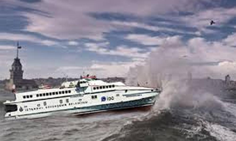 Olumsuz hava koşulları deniz ulaşımını vurdu! Çok sayıda sefer iptal…