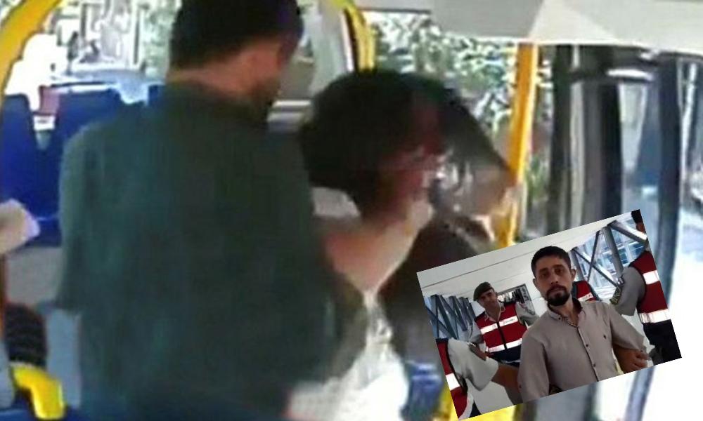 Şortlu kadına saldırıda hapis cezası