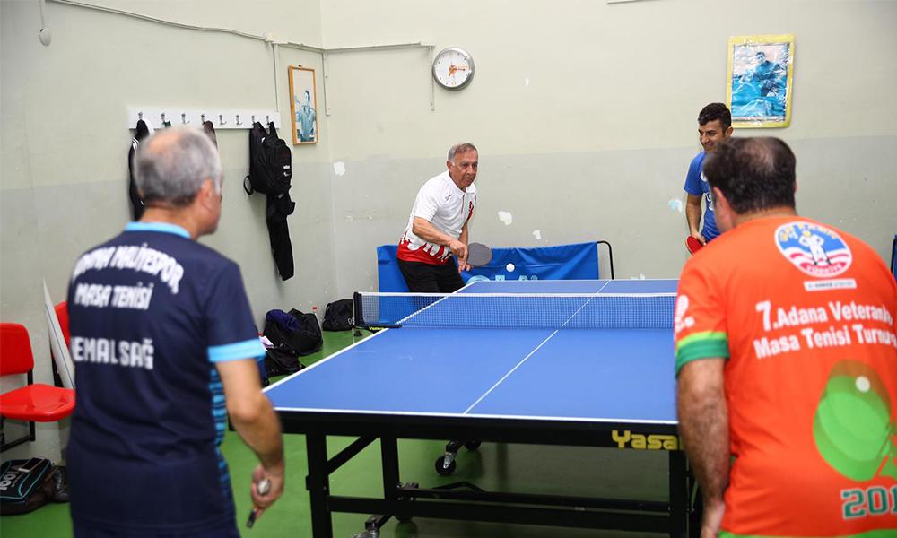 Sporcu Başkan'dan spora destek! Seyhan'a masa tenisi salonu yapılacak