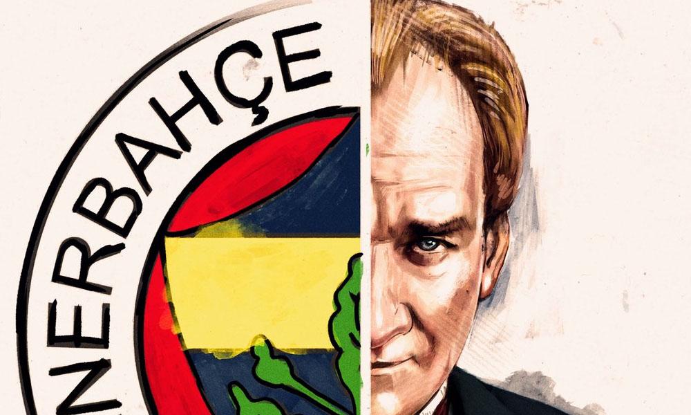 Fenerbahçe'den 'Ey büyük Atatürk' paylaşımı