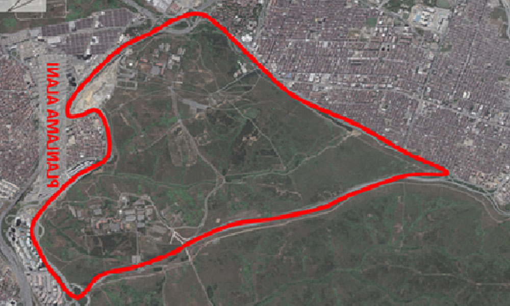 Topkule Kışlası'nın bulunduğu 720 hektar alan Bakanlık eliyle yapılaşmaya açılıyor