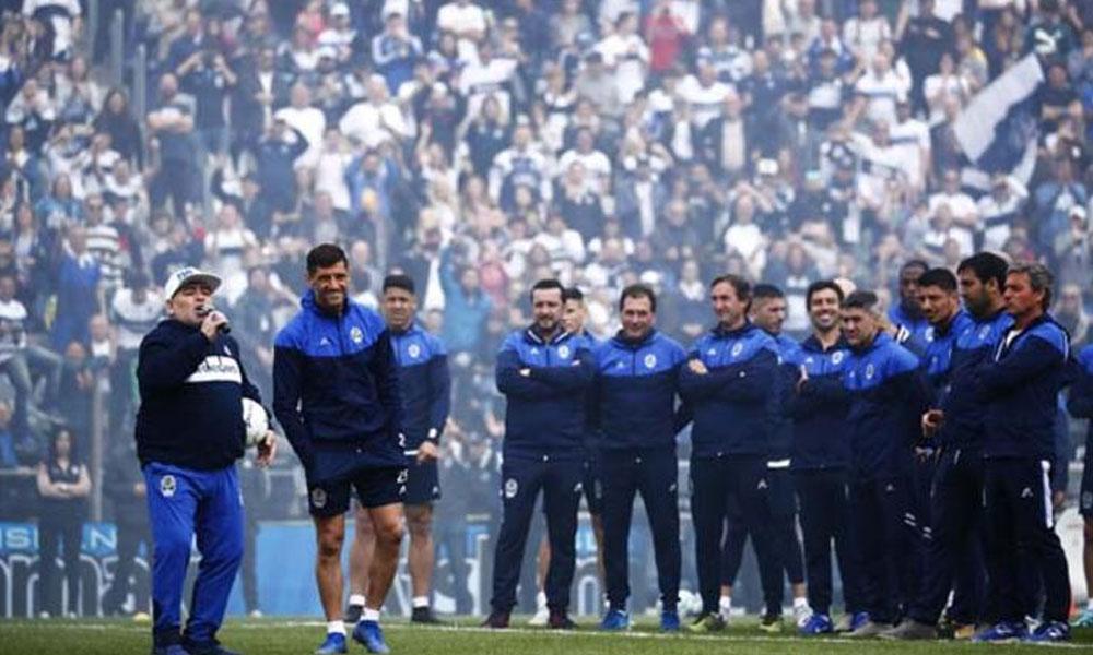 Diego Armando Maradona Arjantin'i salladı! İşte o anlar…