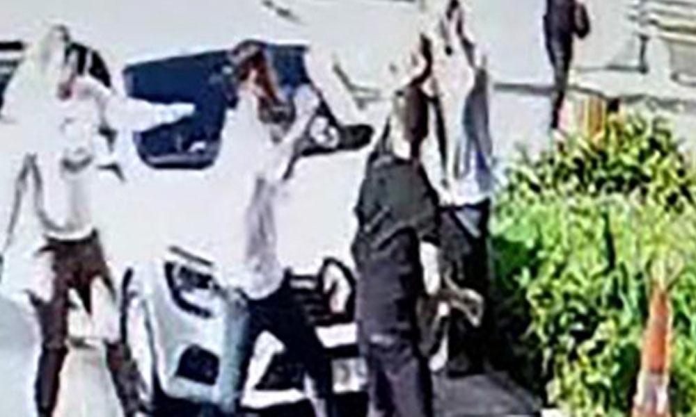 Sendika başkanına saldırı anı kamerada