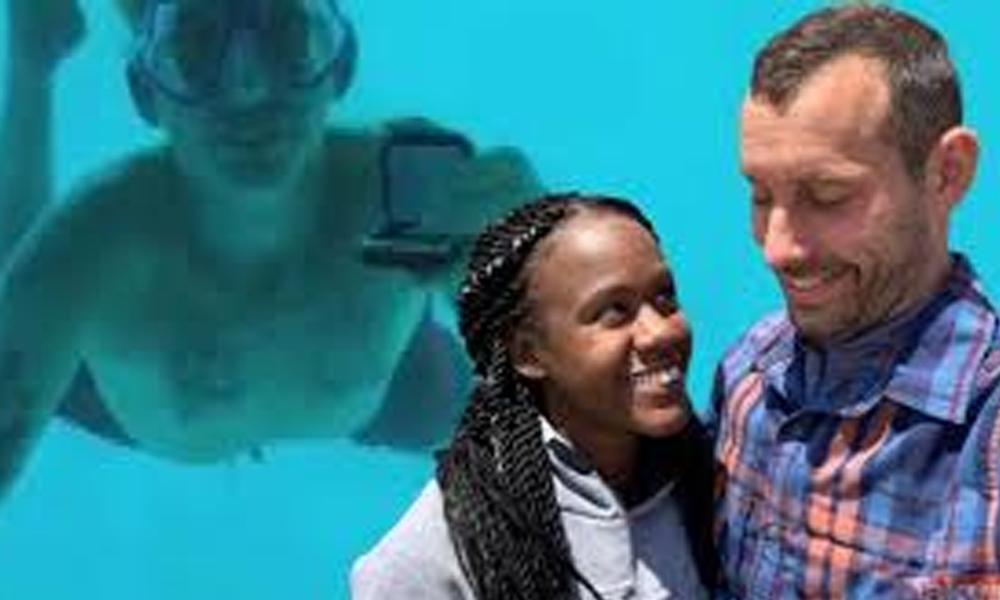 Su altında öldüren evlilik teklifi!