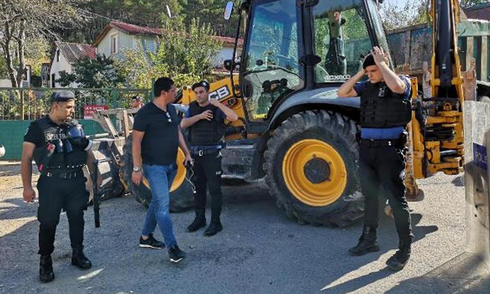 İstanbul'da kaçak yapıların yıkımına başlandı… 315 kaçak yapı yıkılacak