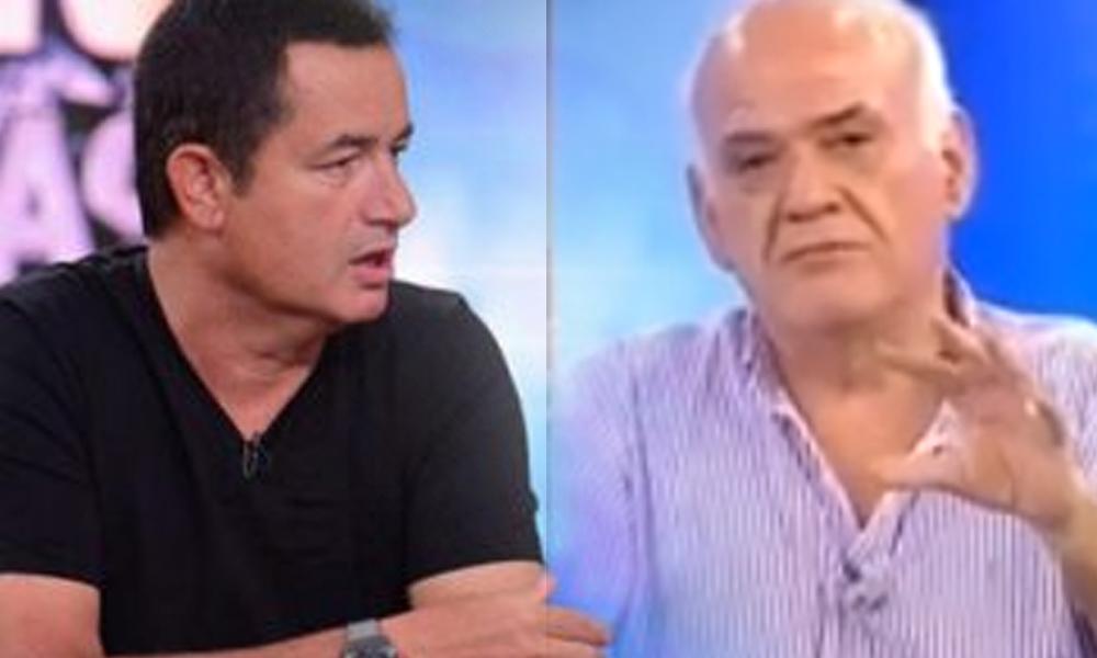 Acun Ilıcalı canlı yayında Ahmet Çakar'a sitem etti: Böyle şey olur mu?