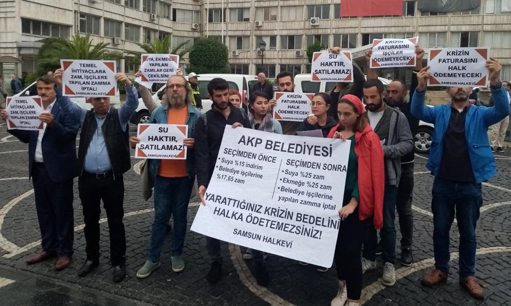 AKP'li Samsun Belediyesi, işçilere seçimden önce yaptığı zammı geri aldı