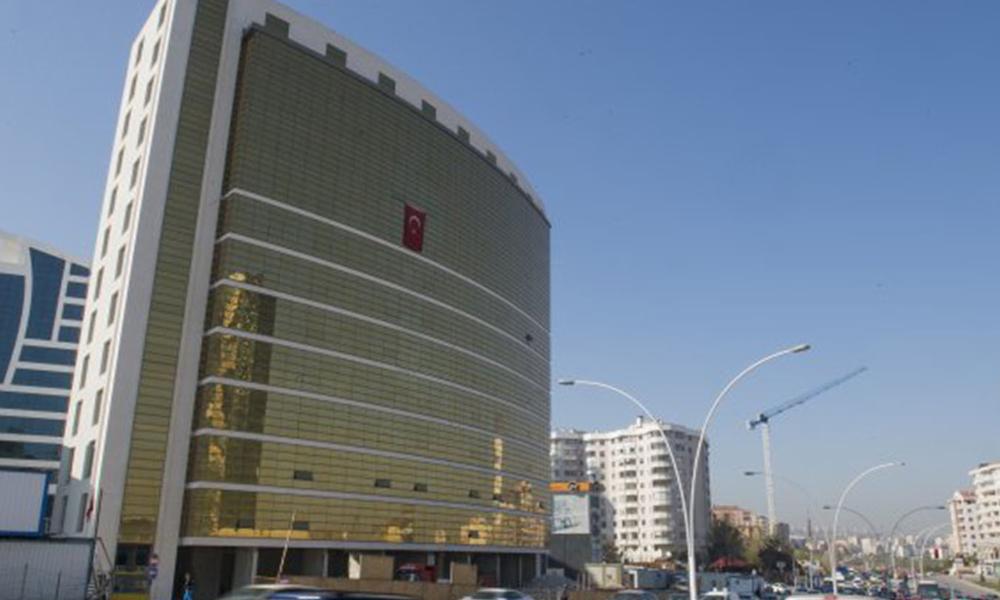 Ankara iş ve ticaret mahkemeleri arşivinde yangın