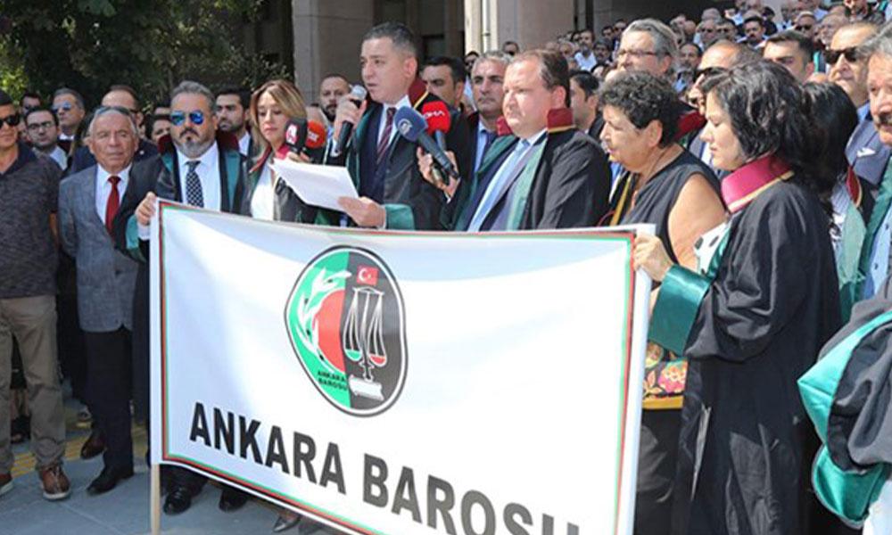 Ankara Barosu'ndan alternatif adli yıl açılışı: Türkiye'de temel hak ve özgürlükler yok edildi…