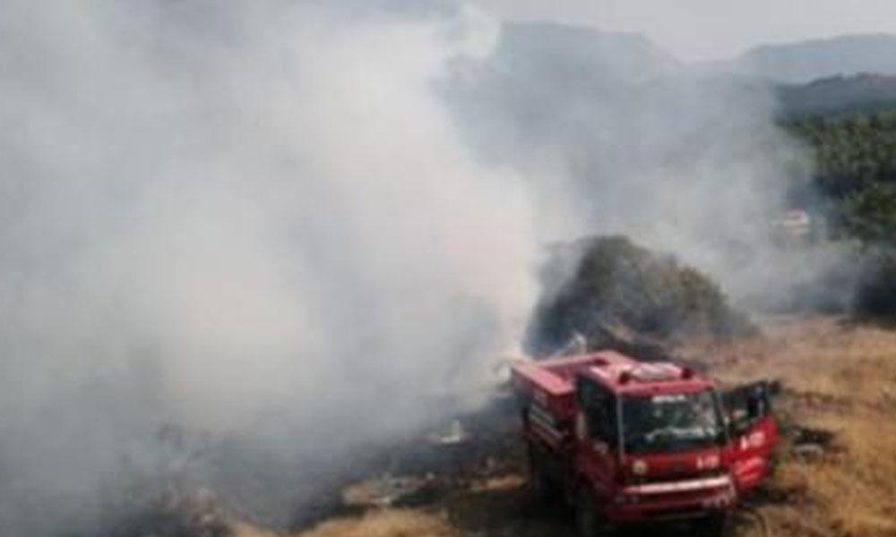 Antalya'da orman yangını: Havadan ve karadan müdahale ediliyor…