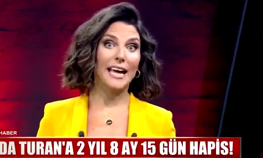 Sunucu Ece Üner, Arda Turan'a verilen cezaya böyle tepki gösterdi: O manşet attıysa biz de gol atalım…