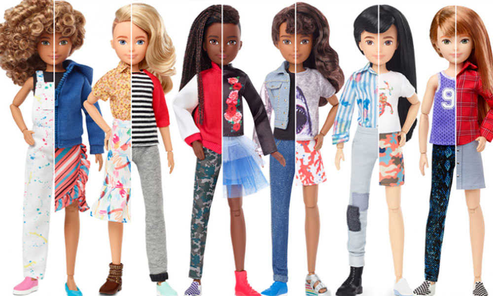 Barbie firması cinsiyet ayrımı gözetmeyen bebekler üretti