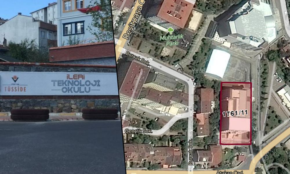 Bilal Erdoğan'ın başkanvekili olduğu dinci vakıf mahallenin parkına çöktü