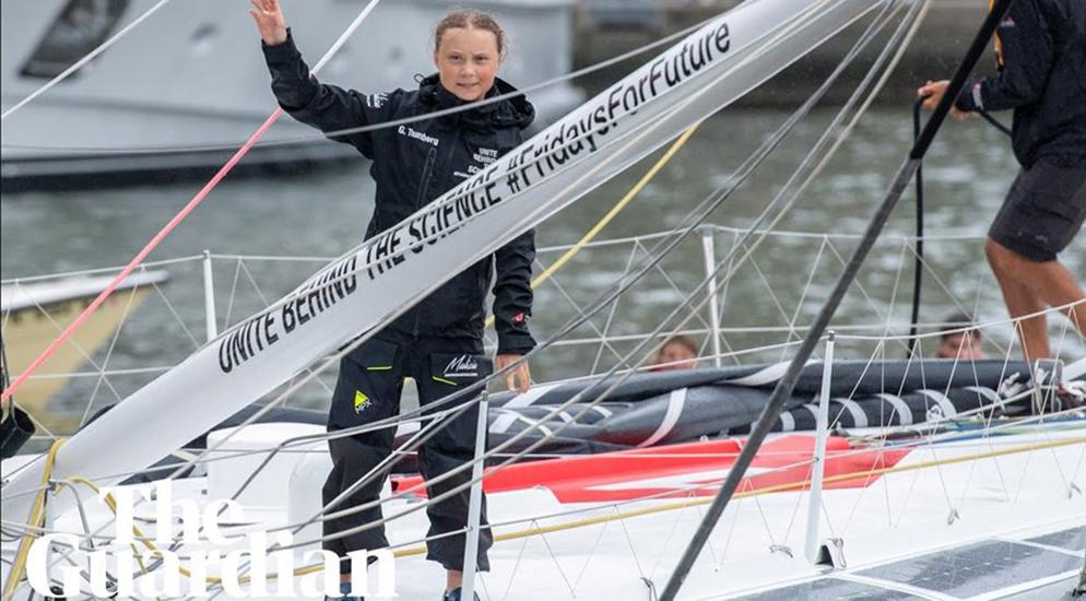 Greta Thunberg, İsveç'teki eylemine kaldığı yerden devam ediyor