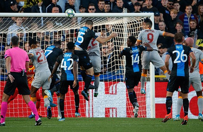 Brugge'de sessiz gece: 0-0