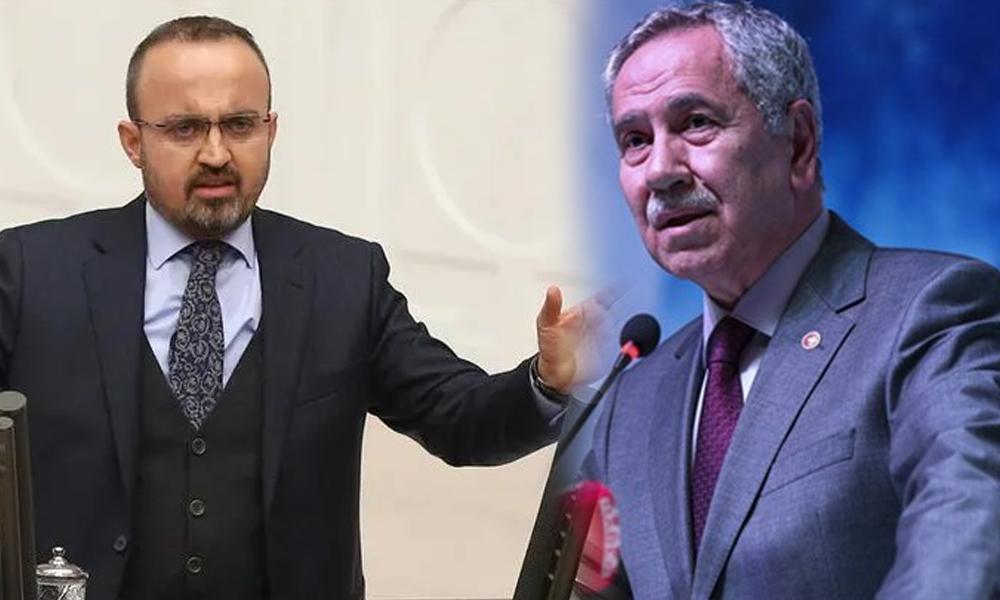 Bülent Arınç'tan AKP'li Turan'a tepki: Boyundan büyük işlere karışma