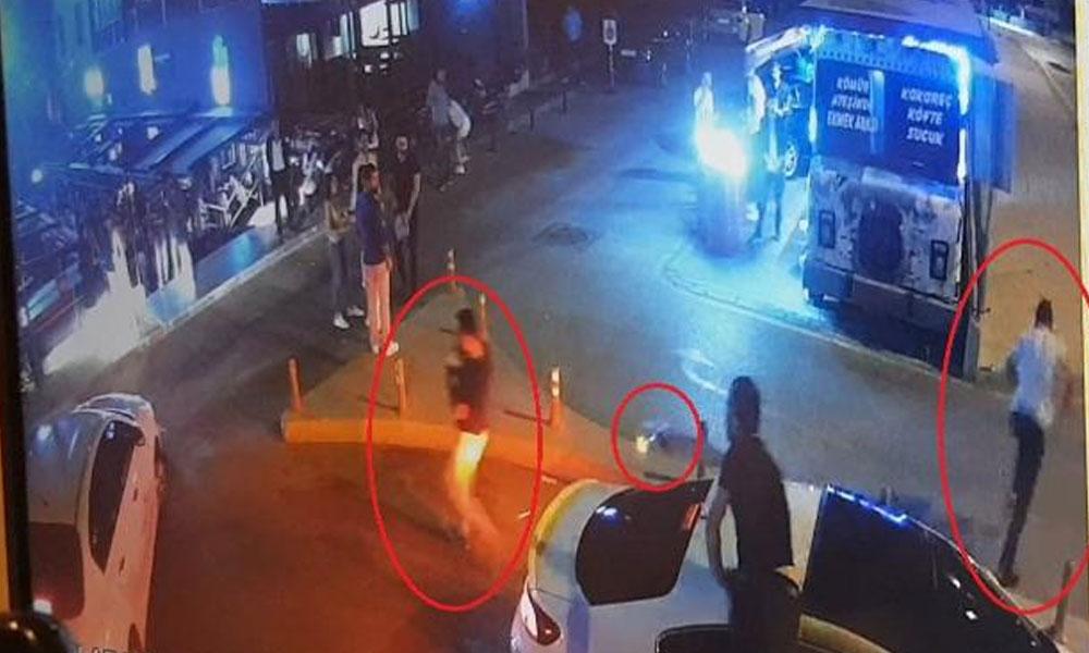 'Sevgilime neden baktın' tartışmasında silahlar konuştu… Saldırı anı kamerada