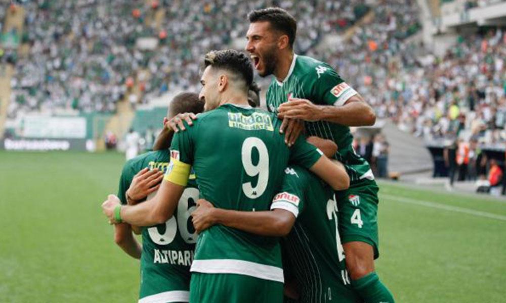 Bursaspor, Osmanlıspor karşısında şov yaptı