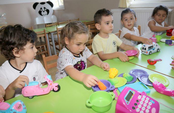 Çankaya'nın kreşlerinde yeni dönem! Gündüz bakım evlerinde ilk eğitim alacak çocuklar ilk gün heyecanı yaşadı