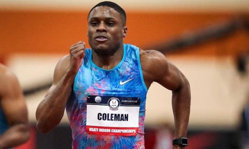 Doping cezasıyla gündeme gelen Christian Coleman Dünya Şampiyonası'nda yarışabilecek