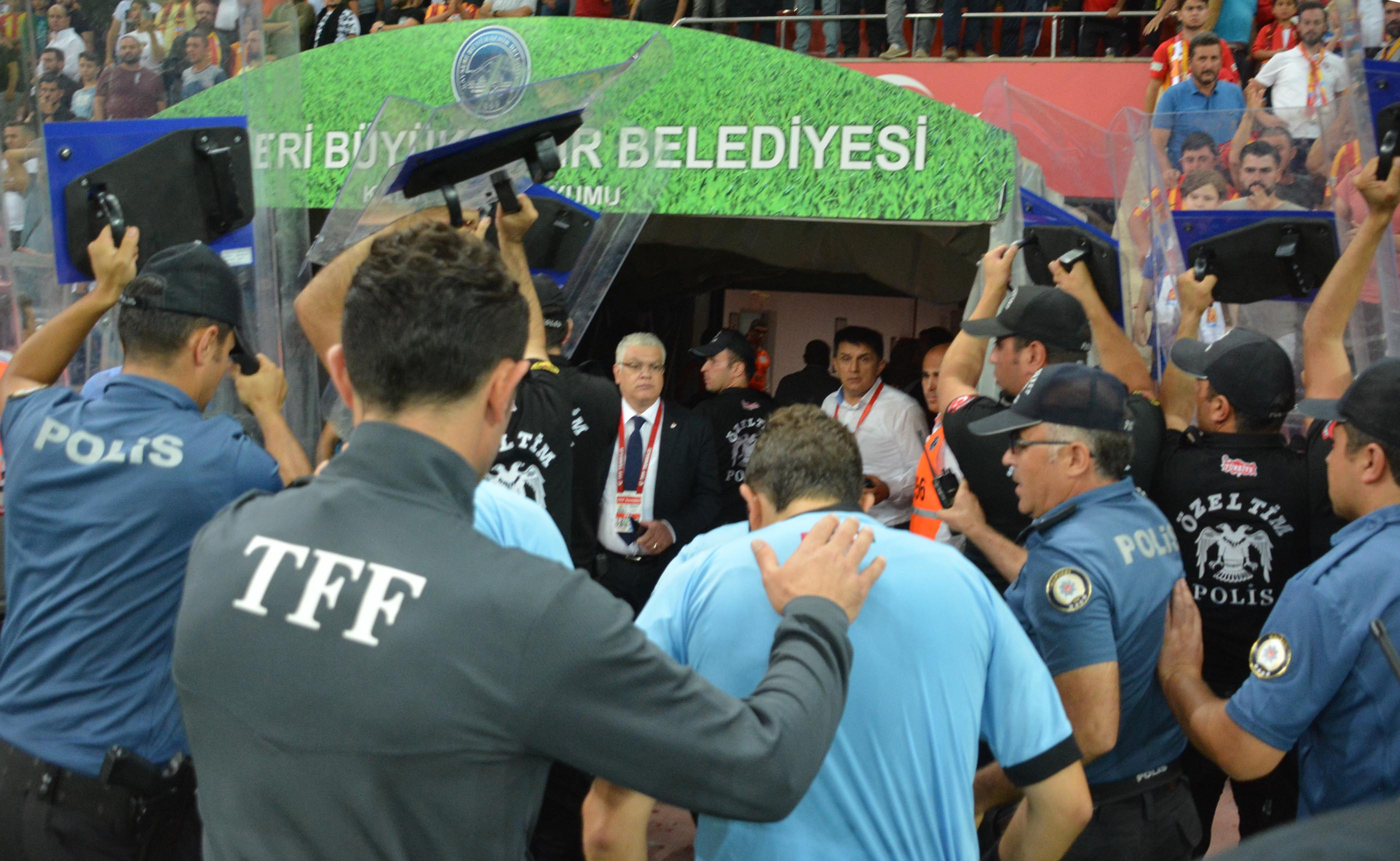 Kayserispor'a ceza yağdı