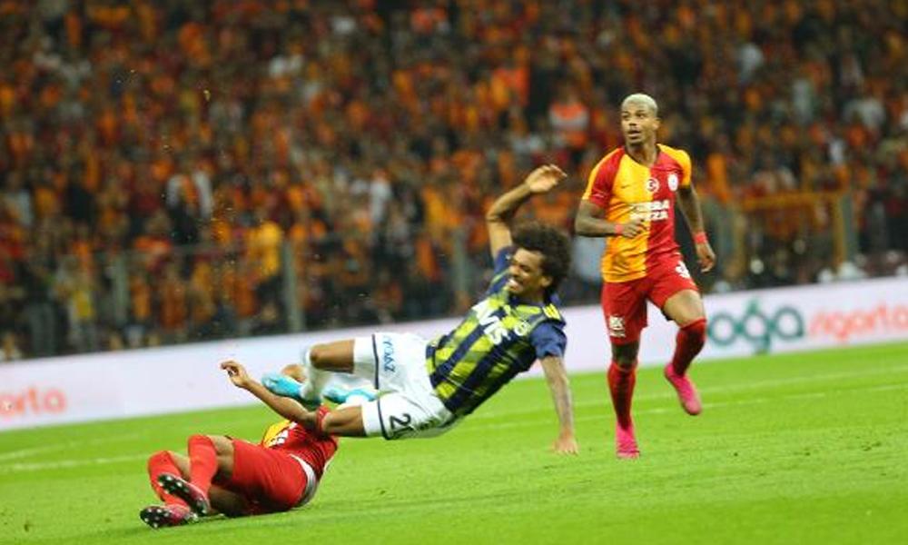 Galatasaray-Fenerbahçe derbisinde kazanan olmadı
