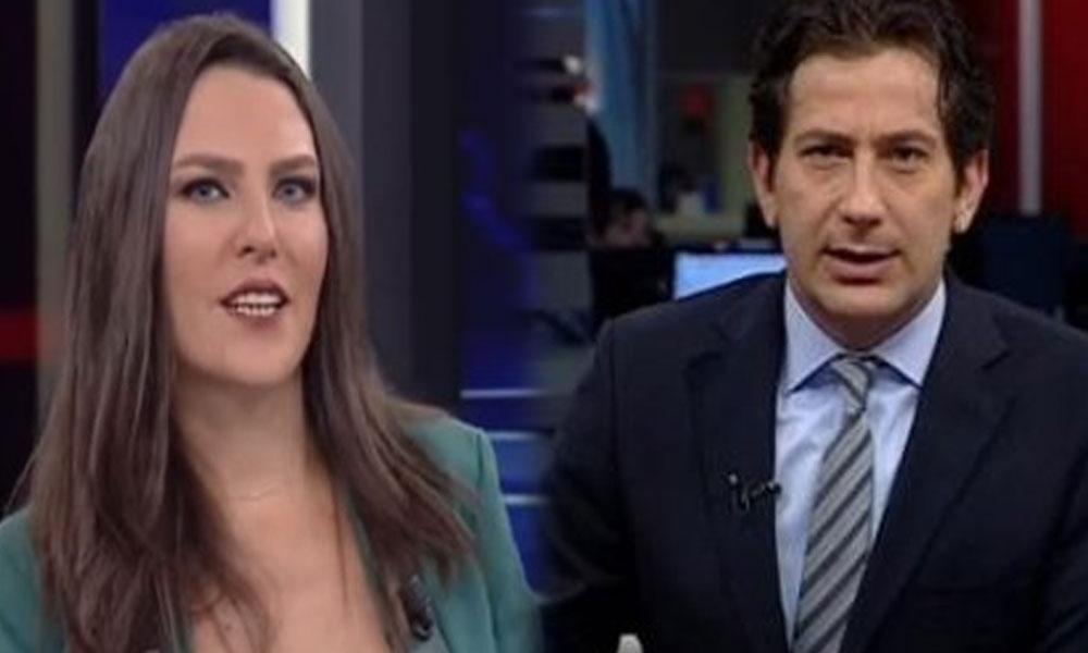 Show Tv Ana Haber Sunucusu Ece Üner'i CNNTürk'teki canlı yayında moderatör eşine şikayet etti!