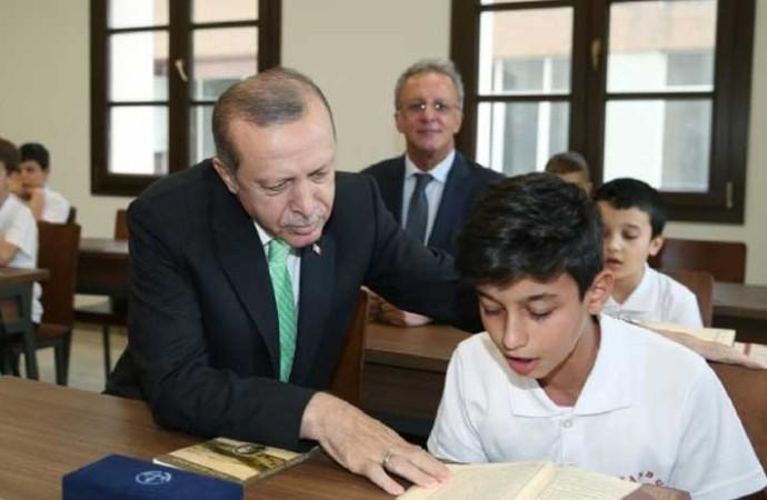 Erdoğan eğitim-öğretim yılı açılış programında konuştu: Bize özgü bir gelenek oluşturamadık