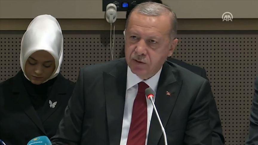 Erdoğan, konuşma yapmak istediğini anlatmaya çalıştı: I speech kürsü