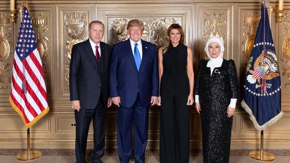 Erdoğan ve Trump BM yemeğinde buluştu, ikili görüşme olmadı