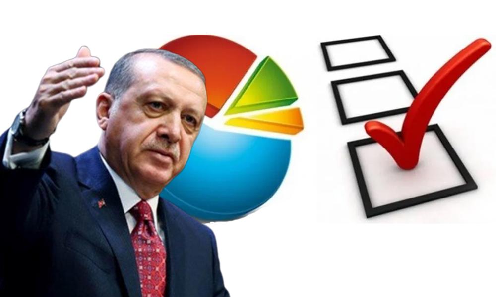 AKP'de deprem yaratan anket! Gözler Erdoğan'a çevrildi
