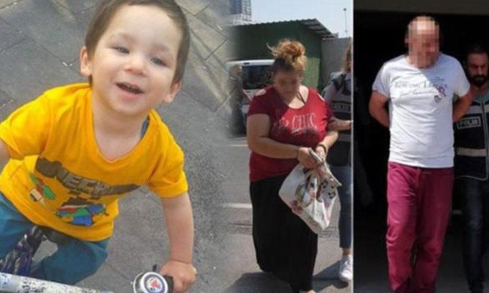 Beş yaşındaki Eymen'i döverek öldüren anne ve sevgilisi tutuklandı
