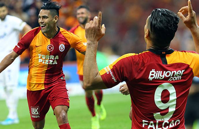 Falcao attı, Galatasaray kazandı!
