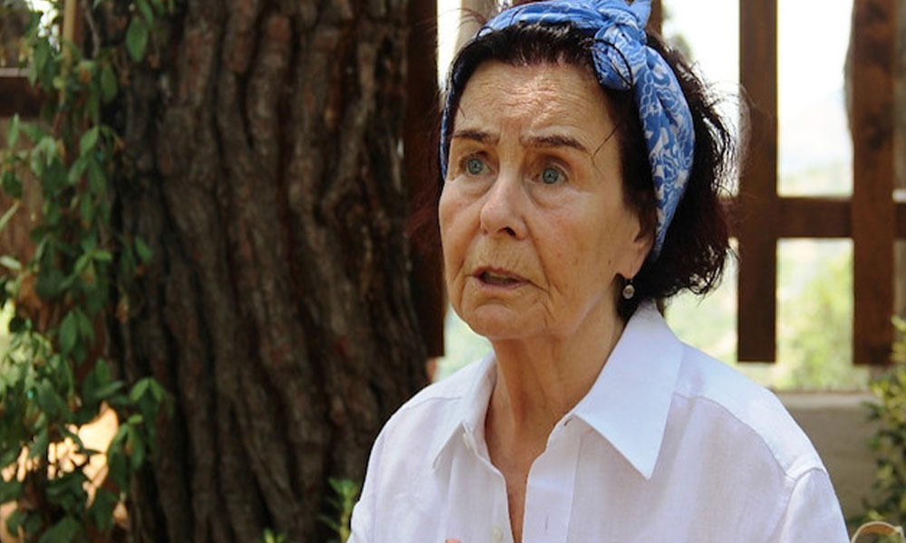 Usta oyuncu Fatma Girik hastaneye yatırıldı