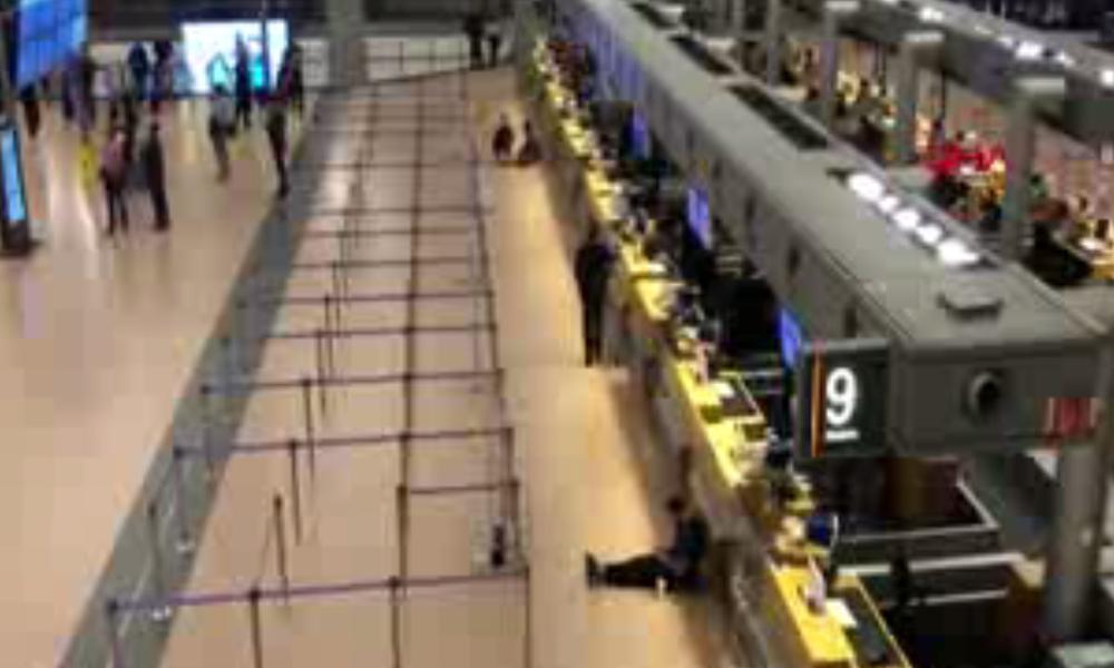 Hamburg Havaalanı'nda kaos