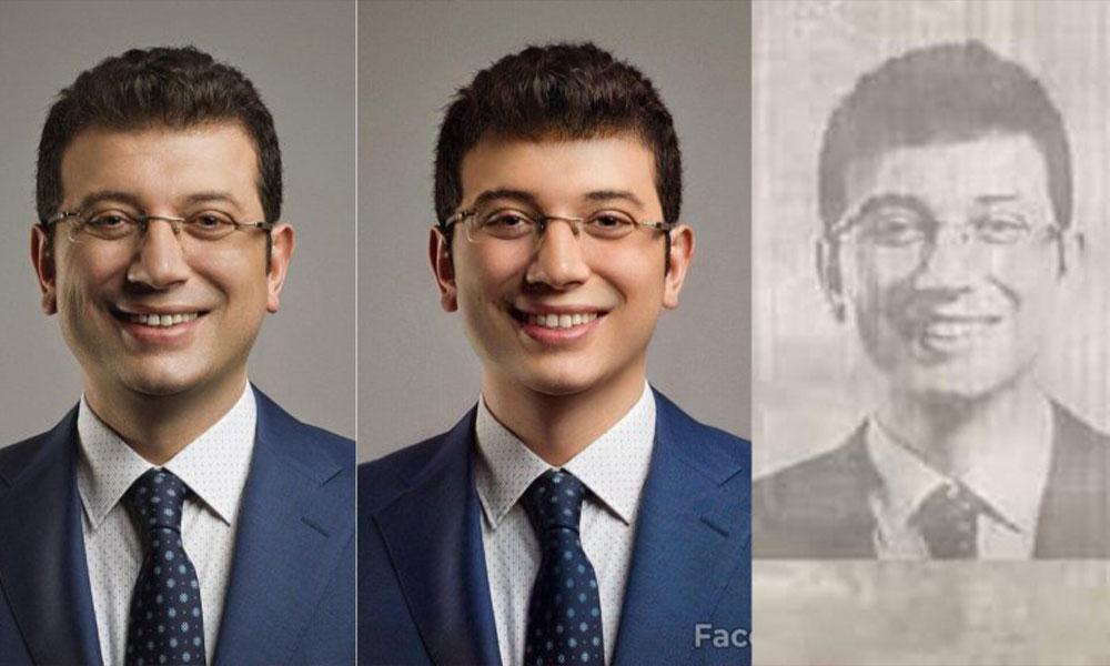 Böyle kara propaganda görülmedi! İmamoğlu'nu faceapp'ta gençleştirip, adına sahte belge düzenlediler!