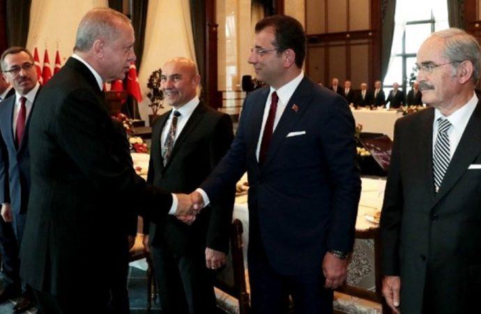 Erdoğan'ın 'sandalyeyi kırdın, parasını ödemen lazım' sözlerine İmamoğlu'ndan yanıt: İkincisinde sağlam otururum…