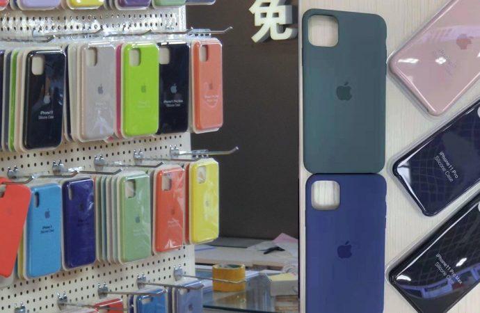 iPhone 11 'in silikon kılıfları ortaya çıktı
