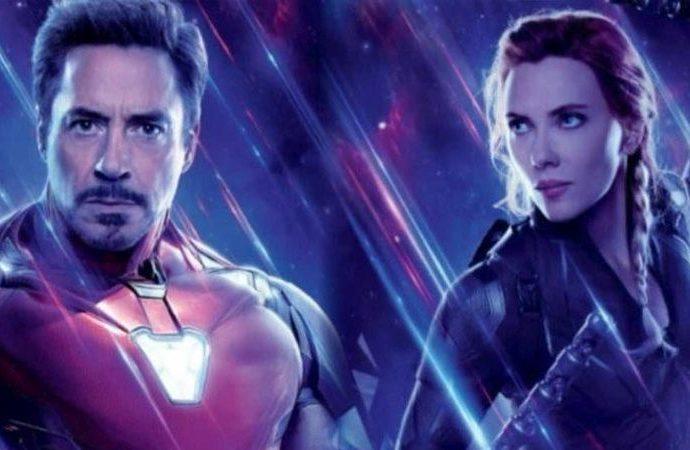 Iron Man , Black Widow filminde karşımıza çıkacak