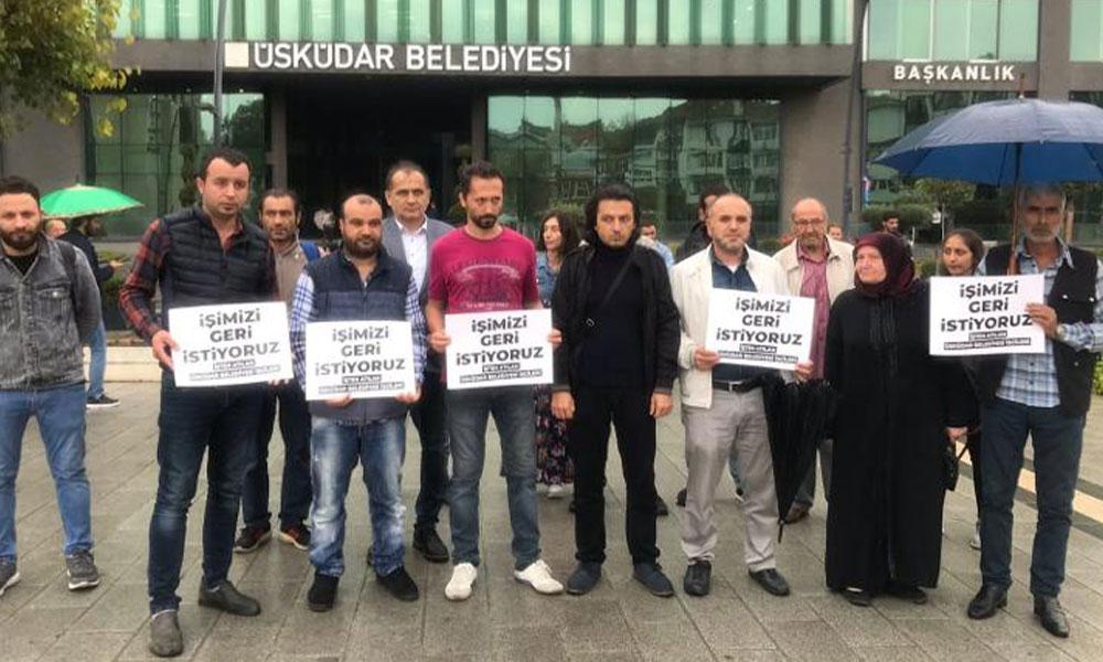 AKP'li Üsküdar Belediyesi'nde büyük işçi kıyımı