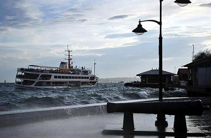 Marmara Bölgesi'ne fırtına uyarısı!