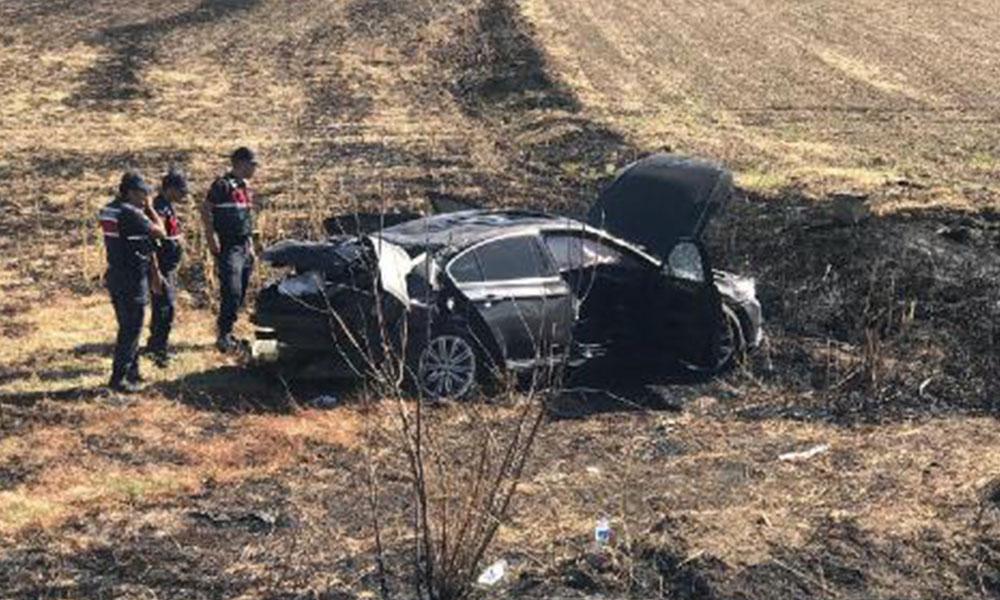 Erdoğan'ın daveti için yola çıkan CHP konvoyunda kaza