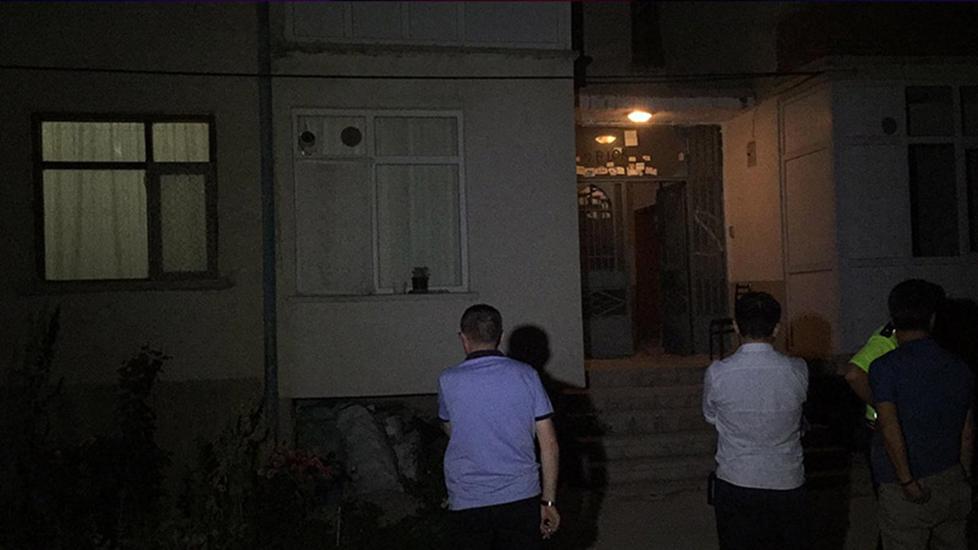 Konya'da korkunç olay! Kocasını keserle öldürdü